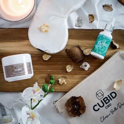 Cubid CBD Sleep Kit the perfect Valentine's Day Gift