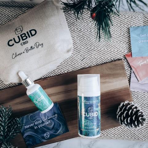 CUBID CBD Peace of Mind CBD gift set