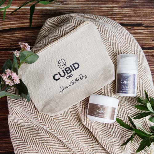 Winter skin survival kit - cbd skincare set